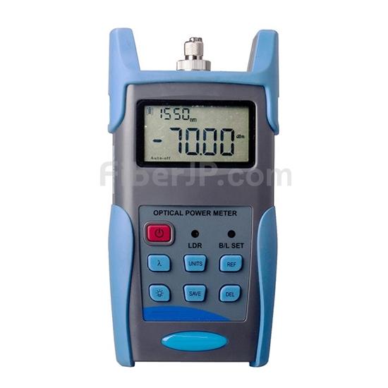 OPM-216A携帯型光パワーメーター(-70~/6dBm、2.5mm FC/SC/STコネクタ付き)の画像