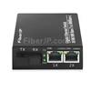 2x 10/100 / 1000Base-T RJ45 ~ 1x 1000Base-X SFP Rainure SC アンマネージド型ギガビットイーサネットメディアコンバーター、シングルファイバー、1310nm / 1550nm、20kmの画像