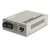 1x 10/100Base-T RJ45 vers 1x 100Base-X SFP Rainure SC アンマネージド型ギガビットイーサネットメディアコンバーター、シングルファイバー、1310nm/1550nm,20kmの画像