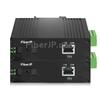 1x 10/100Base-T RJ45 vers 1x 100Base-X SFP Rainure SCアンマネージド型ギガビットイーサネットメディアコンバーター、シングルファイバー、1310nm/1550nm,20km工業級の画像