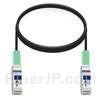 2m Arista Networks CAB-Q-Q-2M対応互換 40G QSFP+パッシブダイレクトアタッチ銅製ケーブル(DAC)の画像