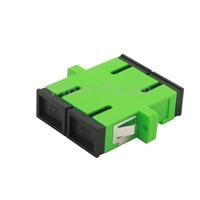 SC/APC-SC/APC デュプレックス シングルモード 光ファイバアダプター/嵌合スリーブ(フランジ付き)