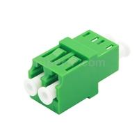 LC/APC-LC/APC デュプレックス シングルモード 標準型 光ファイバアダプター/嵌合スリーブ(フランジなし)