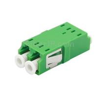 LC/APC-LC/APC デュプレックス シングルモード SC型 プラスチック製光ファイバアダプター/嵌合スリーブ(フランジなし)