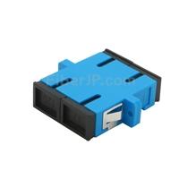SC/UPC-SC/UPC デュプレックス シングルモード プラスチック製光ファイバアダプター/嵌合スリーブ(フランジ付き)の画像
