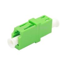 LC/APC-LC/APC シンプレックス シングルモード プラスチック製光ファイバアダプター/嵌合スリーブ(フランジなし)の画像