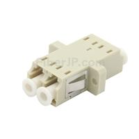 LC/UPC-LC/UPC デュプレックス SC型プラスチック製光ファイバアダプター/嵌合スリーブ(OM1/OM2、デュプレックス SC型プラスチック製光ファイバアダプター/嵌合スリーブ(OM1/OM2、フランジ付き)