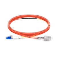 カスタム モード調整可能な光パッチケーブル(OM2),SC-MM ~ LC/UPC-SM&MM,PVCの画像