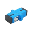 SC/UPC-SC/UPC シンプレックス シングルモード プラスチック製光ファイバアダプター/嵌合スリーブ(フランジ付き)の画像
