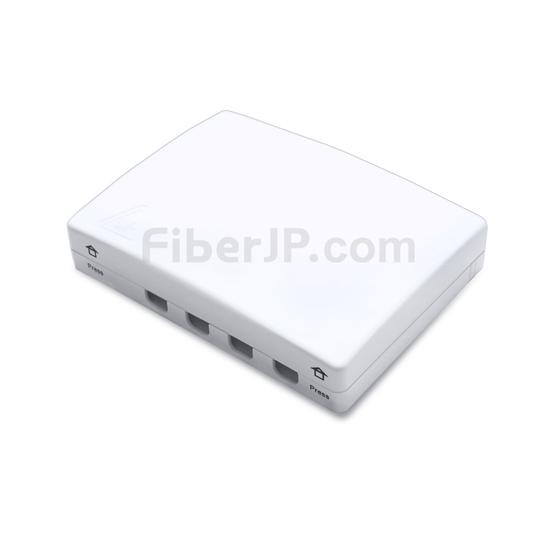 4ポート FTB-104B ウォールマウント光成端箱(ピグテールとアダプタなしの分配ボックス)の画像
