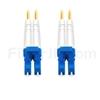 2m グレードB LC/UPC-LC/UPC デュプレックス シングルモード BIF光パッチケーブル(標準0.12dB IL、LSZH、OS2)の画像