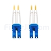 3m グレードB LC/UPC-LC/UPC デュプレックス シングルモード BIF光パッチケーブル(標準0.12dB IL、LSZH、OS2)の画像