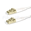 2m LC/UPC-LC/UPC デュプレックス マルチモード BIF光パッチケーブル(0.15dB IL、LSZH、エリート、OM4)の画像