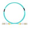 3m LC/UPC-LC/UPC デュプレックス マルチモード BIF光パッチケーブル(0.15dB IL、LSZH、エリート、OM4)の画像