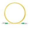 1M(3ft)1550nm FC/APC 低速軸 シングルモード シンプレックス 偏波保持 光パッチケーブル(3.0mm PVC-3.0mm/OFNR)の画像