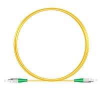 3M(10ft)1550nm FC/APC 低速軸 シングルモード シンプレックス 偏波保持 光パッチケーブル(3.0mm PVC-3.0mm/OFNR)の画像