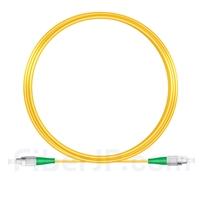 10M(33ft)1550nm FC/APC 低速軸 シングルモード シンプレックス 偏波保持 光パッチケーブル(3.0mm PVC-3.0mm/OFNR)の画像