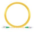 15M(49ft)1550nm FC/APC 低速軸 シングルモード シンプレックス 偏波保持 光パッチケーブル(3.0mm PVC-3.0mm/OFNR)の画像