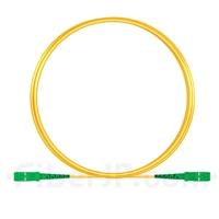 3M(10ft)1550nm SC/APC 低速軸 シングルモード シンプレックス 偏波保持 光パッチケーブル(3.0mm PVC-3.0mm/OFNR)の画像