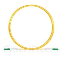 2M(7ft)1550nm LC/APC 低速軸 シングルモード シンプレックス 偏波保持 光パッチケーブル(3.0mm PVC-3.0mm/OFNR)の画像
