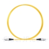 1M(3ft)1550nm FC/UPC 低速軸 シングルモード シンプレックス 偏波保持 光パッチケーブル(3.0mm PVC-3.0mm/OFNR)の画像