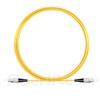 5M(16ft)1550nm FC/UPC 低速軸 シングルモード シンプレックス 偏波保持 光パッチケーブル(3.0mm PVC-3.0mm/OFNR)の画像