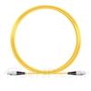 10M(33ft)1550nm FC/UPC 低速軸 シングルモード シンプレックス 偏波保持 光パッチケーブル(3.0mm PVC-3.0mm/OFNR)の画像