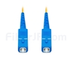 1M(3ft)1550nm SC/UPC 低速軸 シングルモード シンプレックス 偏波保持 光パッチケーブル(3.0mm PVC-3.0mm/OFNR)の画像