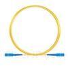 2M(7ft)1550nm SC/UPC 低速軸 シングルモード シンプレックス 偏波保持 光パッチケーブル(3.0mm PVC-3.0mm/OFNR)の画像