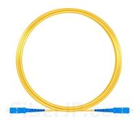 10M(33ft)1550nm SC/UPC 低速軸 シングルモード シンプレックス 偏波保持 光パッチケーブル(3.0mm PVC-3.0mm/OFNR)の画像