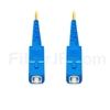 20M(66ft)1550nm SC/UPC 低速軸 シングルモード シンプレックス 偏波保持 光パッチケーブル(3.0mm PVC-3.0mm/OFNR)の画像