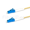 1M(3ft)1550nm LC/UPC 低速軸 シングルモード シンプレックス 偏波保持 光パッチケーブル(3.0mm PVC-3.0mm/OFNR)の画像