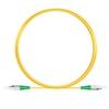 3M(10ft)1310nm FC/APC 低速軸 シングルモード シンプレックス 偏波保持 光パッチケーブル(3.0mm PVC-3.0mm/OFNR)の画像