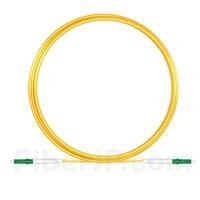 5M(16ft)310nm LC/APC 低速軸 シングルモード シンプレックス 偏波保持 光パッチケーブル(3.0mm PVC-3.0mm/OFNR)の画像