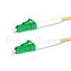 10M(33ft)1310nm LC/APC 低速軸 シングルモード シンプレックス 偏波保持 光パッチケーブル(3.0mm PVC-3.0mm/OFNR)の画像