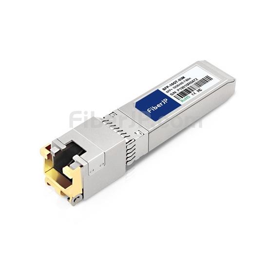 Juniper Networks EX-SFP-10GE-T対応互換 10GBASE-T SFP+モジュール(RJ-45銅製 80m JU)の画像