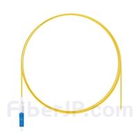 1m シンプレックス LC/UPC シングルモード 光ファイバピグテール(0.9mm PVCジャケット、9/125)の画像