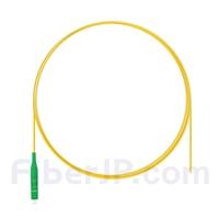 1m シンプレックス LC/APC シングルモード 光ファイバピグテール(0.9mm PVCジャケット、9/125)の画像