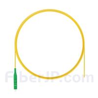 2m シンプレックス LC/APC シングルモード 光ファイバピグテール(0.9mm PVCジャケット、9/125)の画像