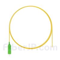 1m シンプレックス SC/APC シングルモード 光ファイバピグテール(0.9mm PVCジャケット、9/125)の画像