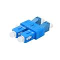 LC/UPCメス-SC/UPCオス デュプレックス シングルモード プラスチック製光ファイバアダプター/嵌合スリーブの画像