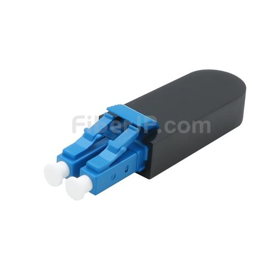 LC/UPC デュプレックス シングルモード 光ファイバループバックモジュール(PVC、9/125)の画像