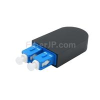 SC/UPC デュプレックス シングルモード 光ファイバループバックモジュール(PVC、9/125)の画像