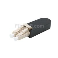 LC/UPC デュプレックス マルチモード 光ファイバループバックモジュール(PVC、OM1、62.5/125)の画像