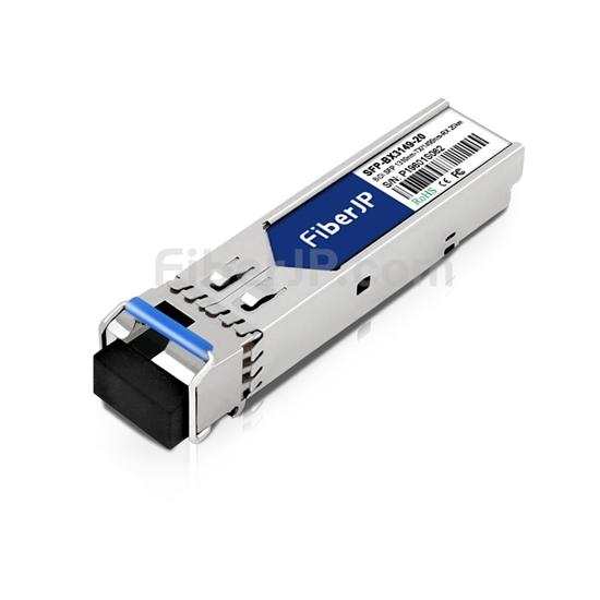 Calix 100-01957互換 1000Base-BX SFPモジュール 1310nm-TX/1490nm-RX 20km SMF(LCシンプレクス) DOMの画像