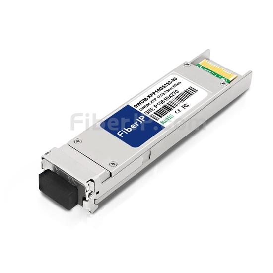 ADVA 1061701402-05互換 10GBase-DWDM XFPモジュール 1530.33nm 80km SMF(LCデュプレックス) DOMの画像