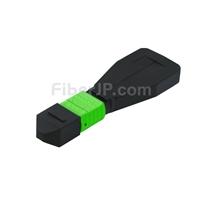 8芯 MTP®メス シングルモード 光ファイバループバックモジュール(タイプ1、9/125)の画像