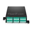 24芯 タイプA FHD MTP®カセット(2x12芯MTP®-12x LCデュプレックス、OM4マルチモード)の画像