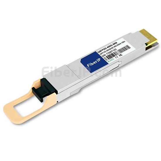 汎用 対応互換 400GBASE-SR8 QSFP-DDモジュール(PAM4 850nm 100m DOM)の画像