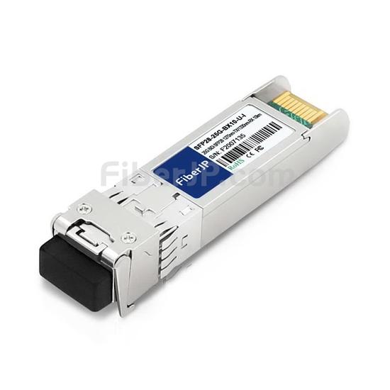 工業用 Arista Networks SFP-25G-BD-I互換 25GBASE-BX10-U SFP28モジュール(1270nm-TX/1330nm-RX 10km DOM)の画像